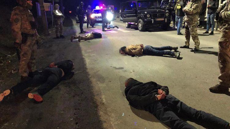 Перестрілка в Мукачево: нові дані про затриманих