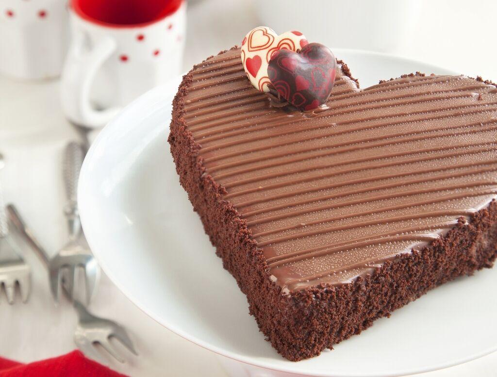 Торт до Дня святого Валентина