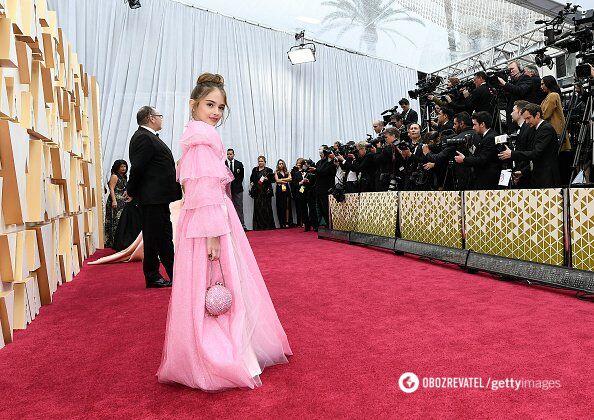 """Прийшла з бутербродом: як виглядає наймолодша учасниця """"Оскар-2020"""""""