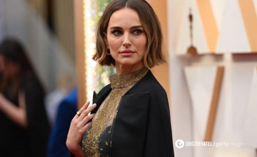 "Натали Портман в шикарном наряде от Dior на премии ""Оскар-2020"""