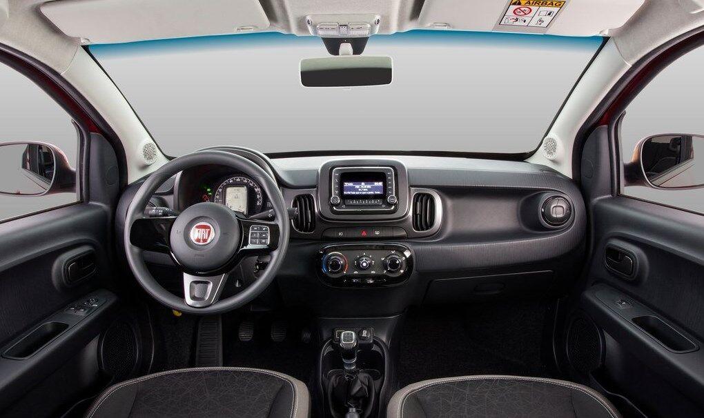 Бюджетный Fiat Mobi может поделиться с новинкой деталями интерьера