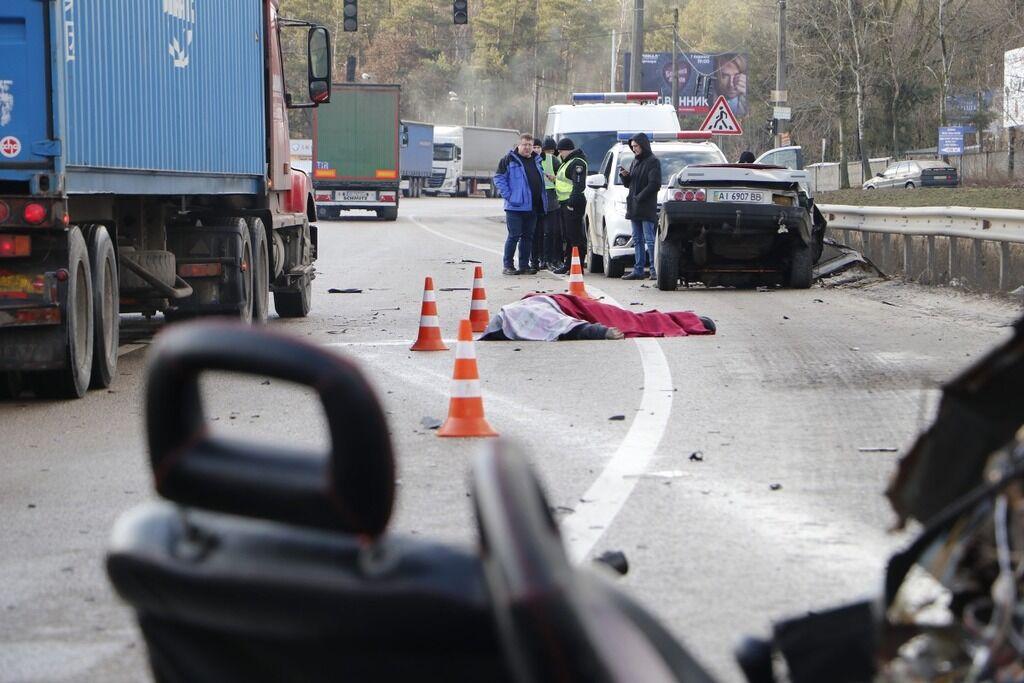 Под Киевом произошло смертельное ДТП