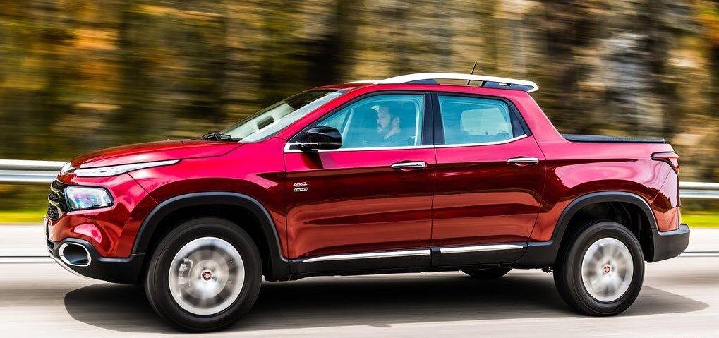 Новый Fiat Strada 2021 выполнили в стиле Fiat Toro