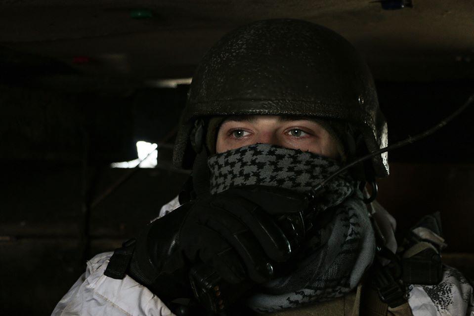 Захисник України на Донбасі