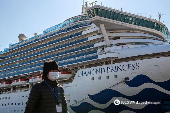 Пасажирам Diamond Princess запропонували безкоштовне порно