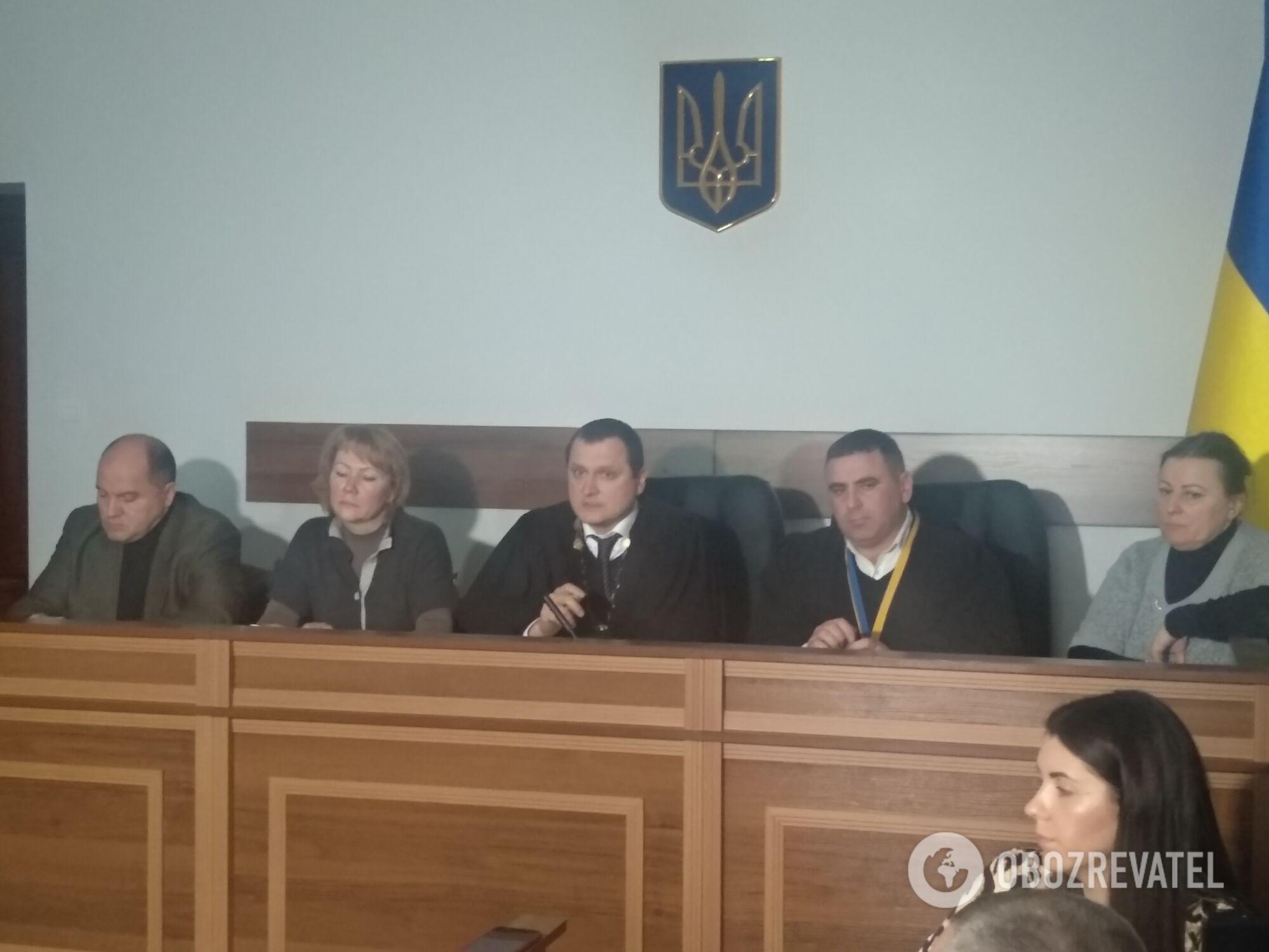 Засідання в Шевченківському районному суді