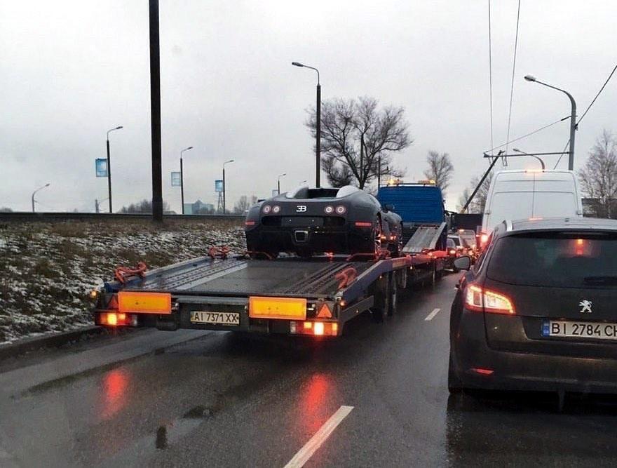 Bugatti Veyron – перший в Україні