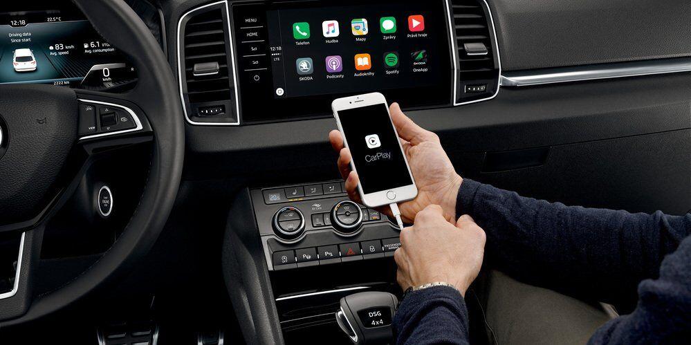 Приложение Skoda OneApp обеспечивает водителя полной информацией о поездке