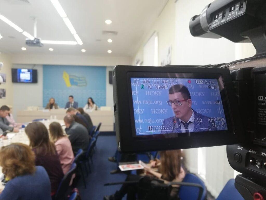 """Томиленко: Мы обратились к коллегам в регионах, попросили их очертить сферы риска, которые они видят в законопроекте """"О медиа"""". Люди просто боятся читать и вчитываться в эти 175 или 200 страниц"""