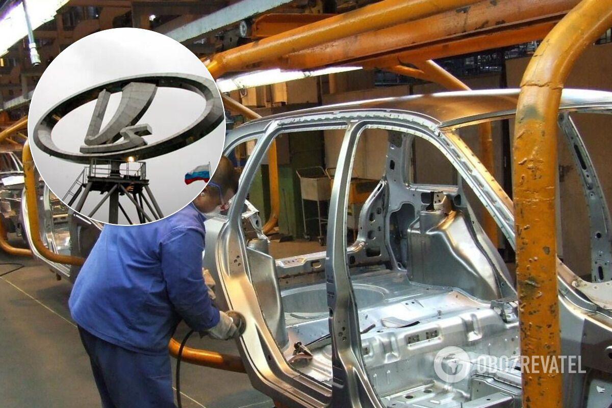 Кількість вироблених АвтоВАЗом автомобілів падає, а працівники залишають компанію