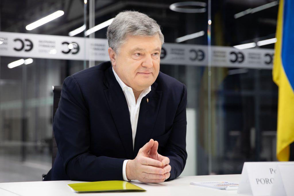 Петро Порошенко на зустрічі з послом Литви