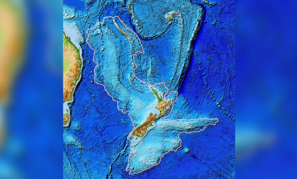 Втрачений континент Зеландія