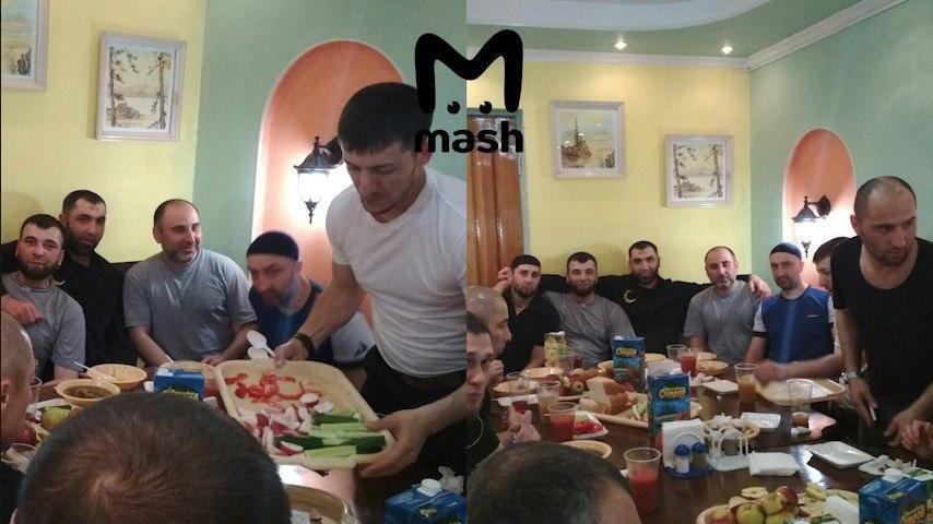 Заур Дадаев: вспыли фото застолья в колонии с убийцей Немцова