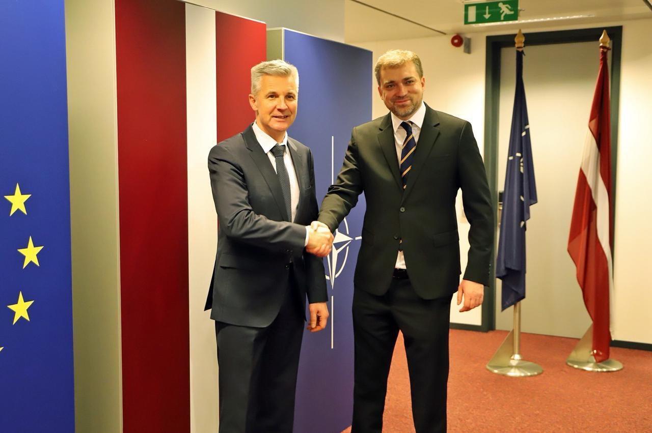 Андрій Загороднюк на зустрічах у Штаб-квартирі НАТО