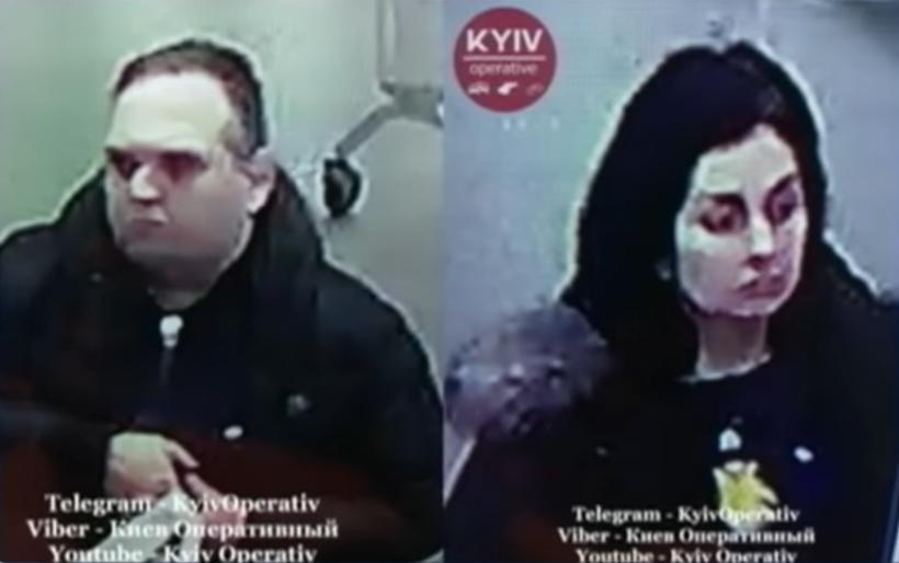 Подозреваемые на камерах видеонаблюдения