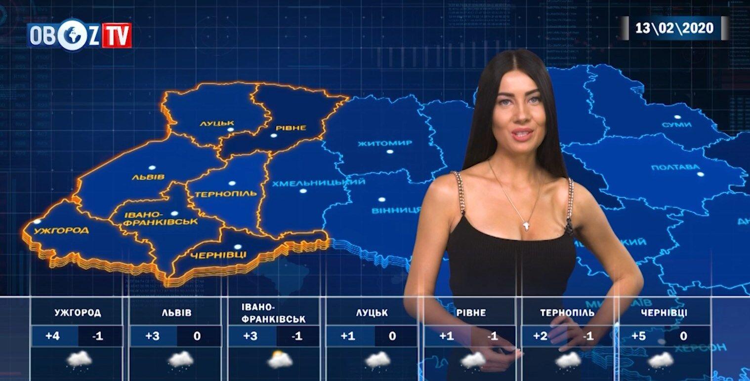 Україну накриє мокрим снігом: прогноз на 13 лютого від ObozTV