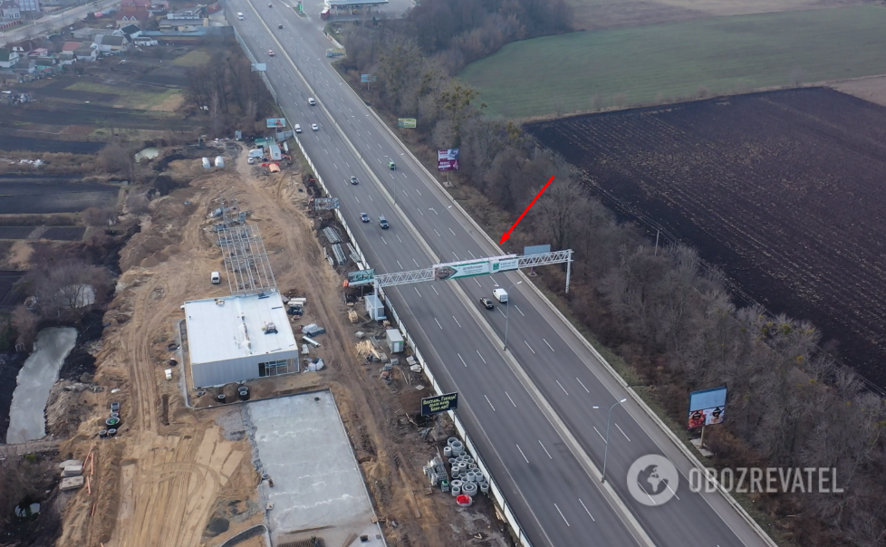 На одесской трассе около поселка Чабаны запланировано строительство двухуровневой развязки