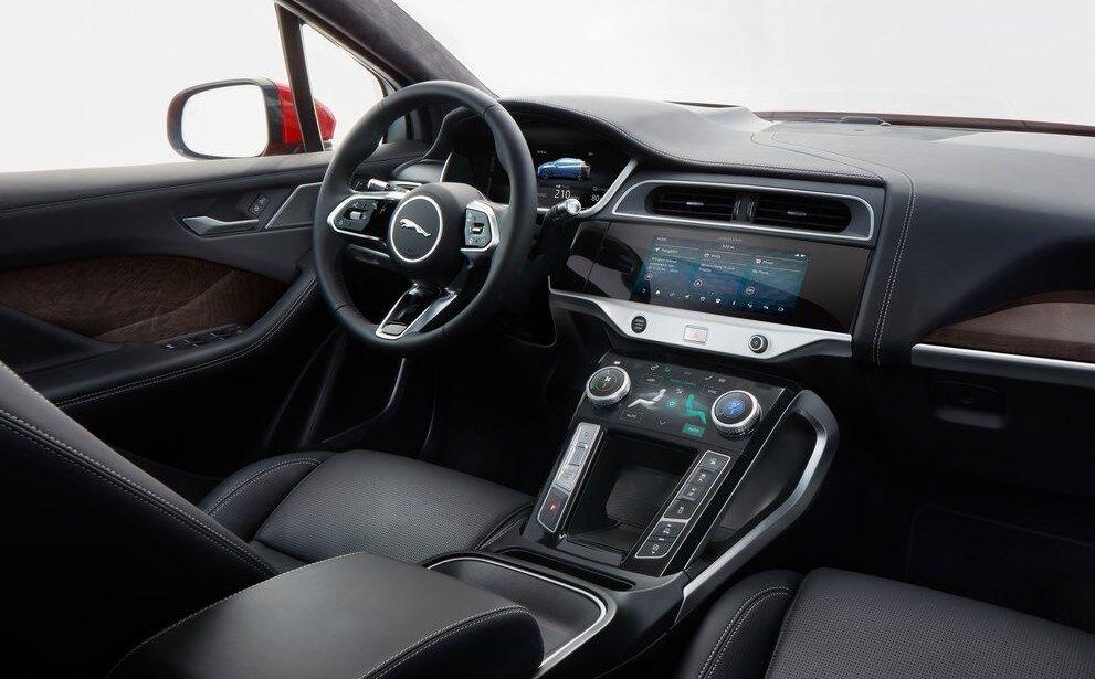 Jaguar I-Pace пропонує своїм пасажирам розкішний інтер'єр