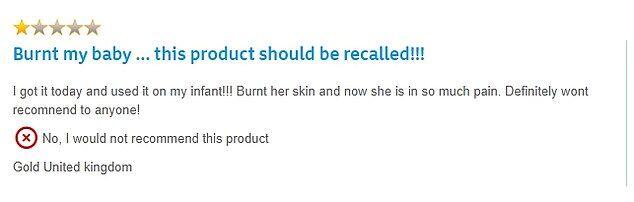 Детские салфетки для чувствительной кожи оставляют ожоги