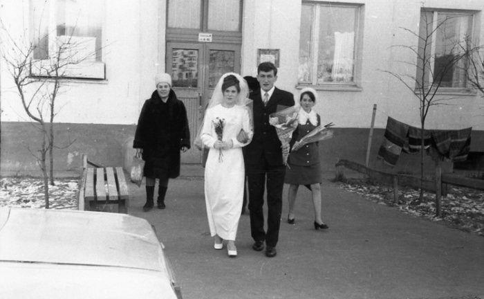 Свадьба времен СССР