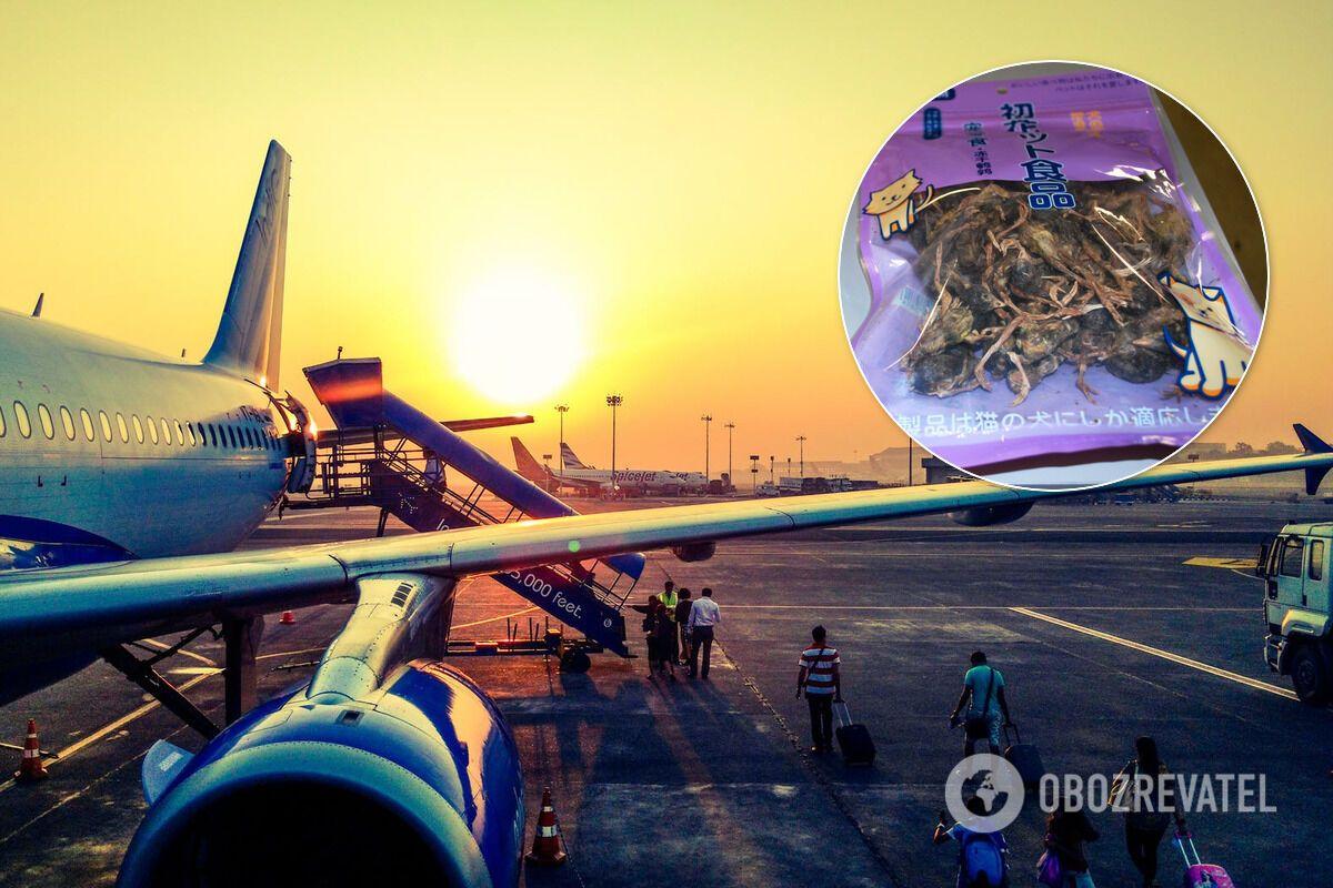 Громадянин Китаю намагався провезти в США моторошний багаж: фото
