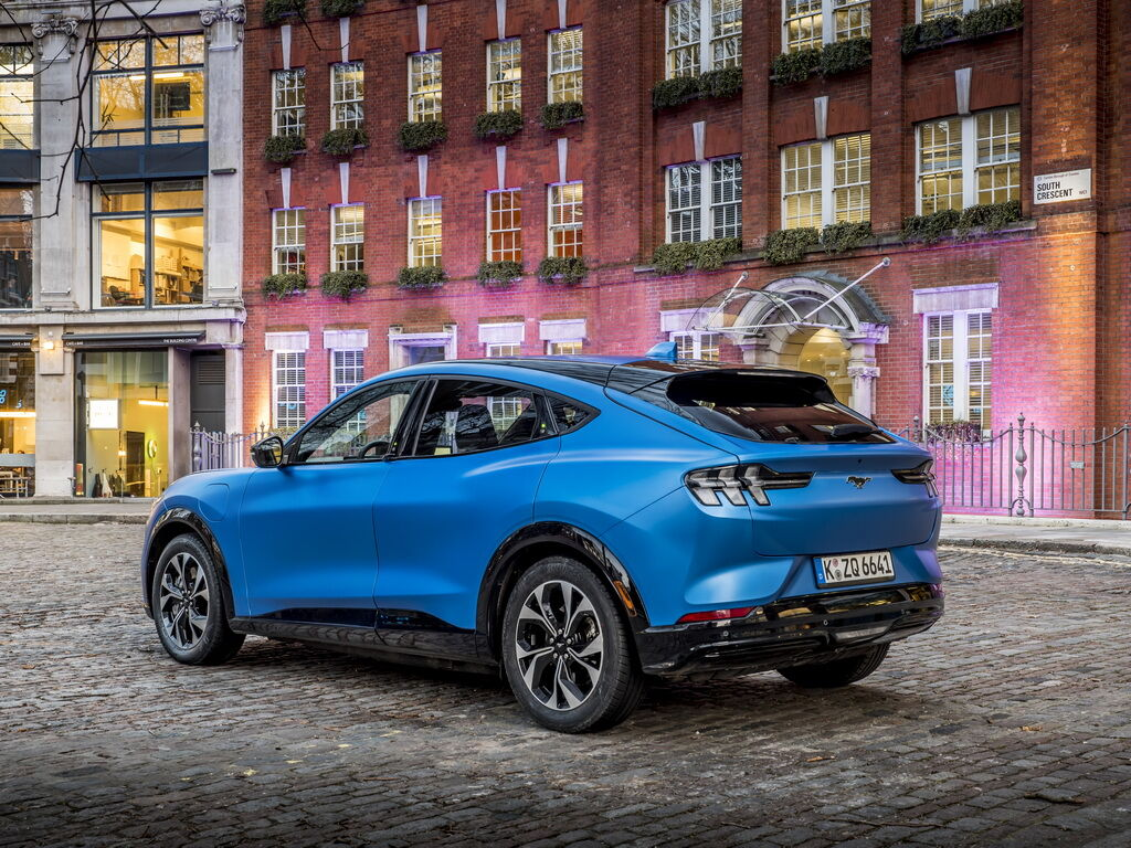 Ford Mustang Much-E 2021