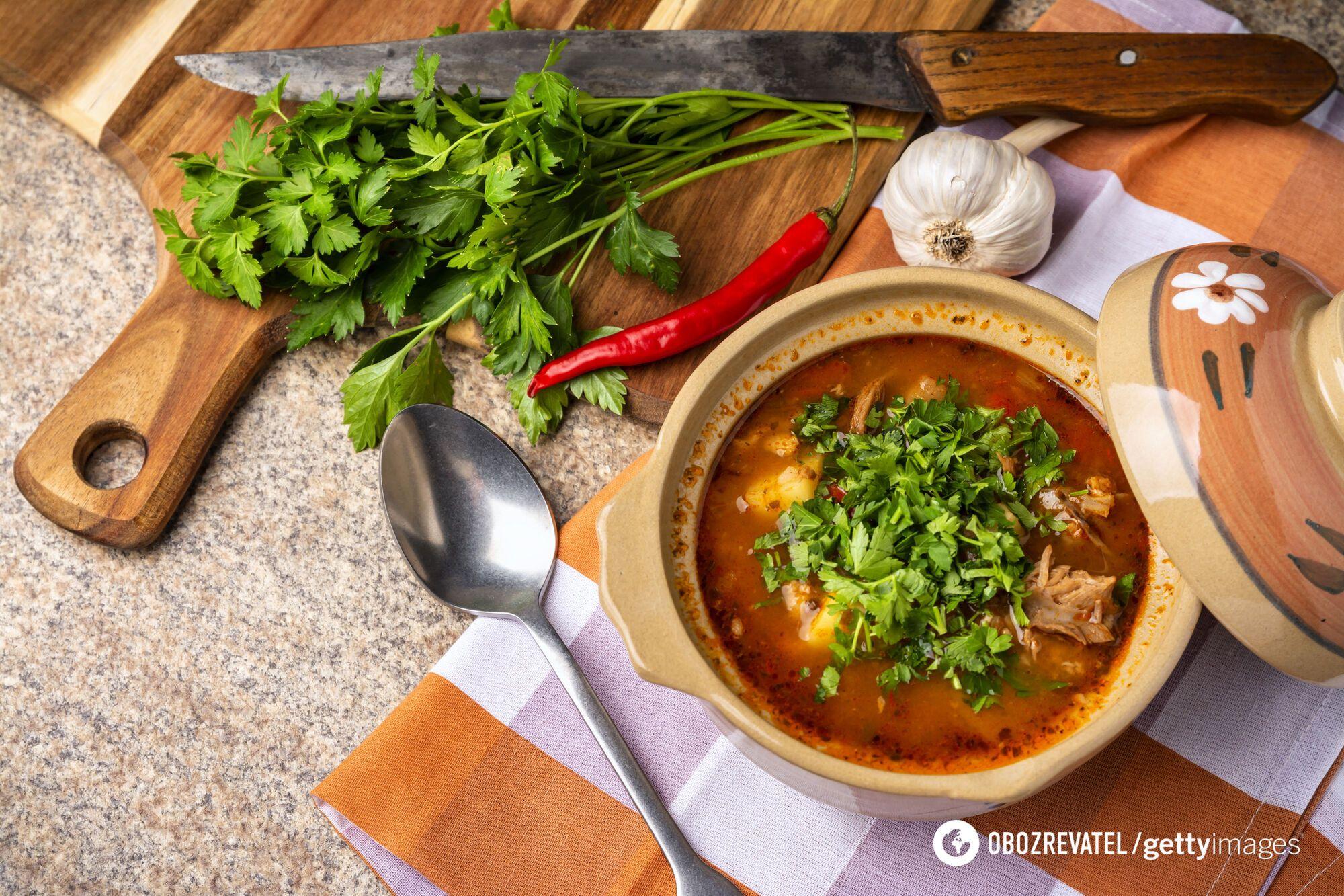 Суп харчо по-мегрельски