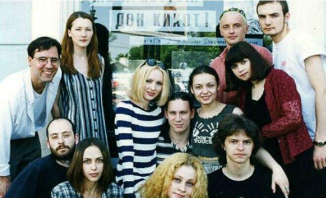 Ксенофонтова в студентські роки