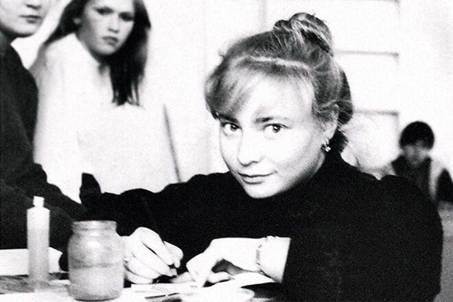 Світлана Пермякова в молодості