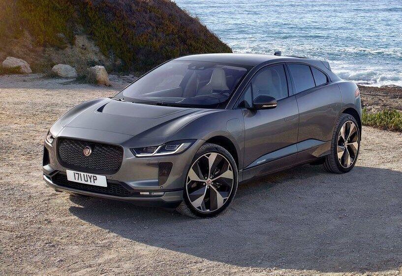 Кроссовер Jaguar I-Pace – самый продаваемый новый электромобиль в Украине