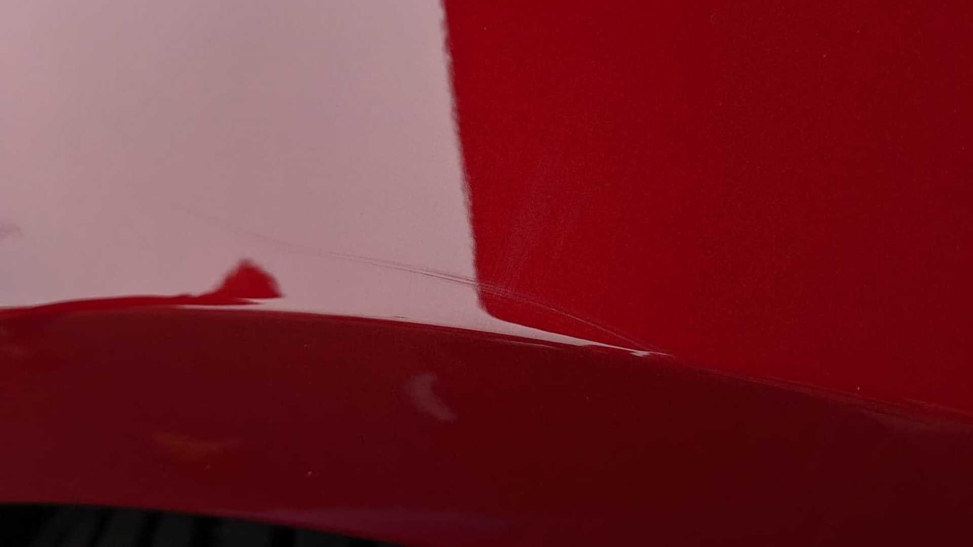 Царапины после мойки на другой Model 3