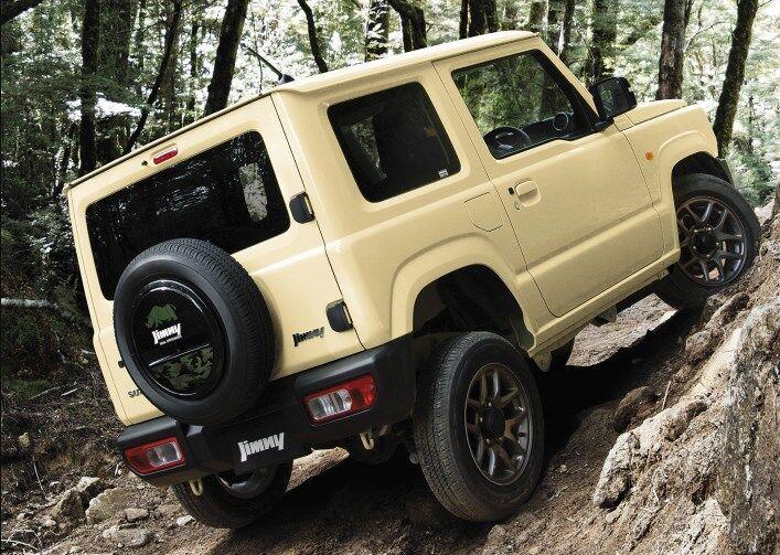 Найбільшою популярністю в Японії користується найдешевший Suzuki Jimny