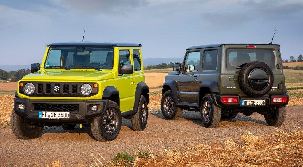 На глобальному ринку представлений Suzuki Jimny з більш широким кузовом