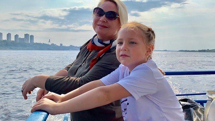 Світлана Пермякова з дочкою