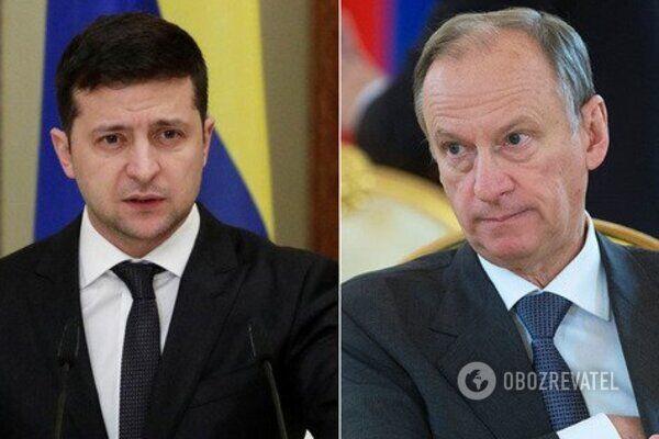 Володимир Зеленський і Микола Патрушев