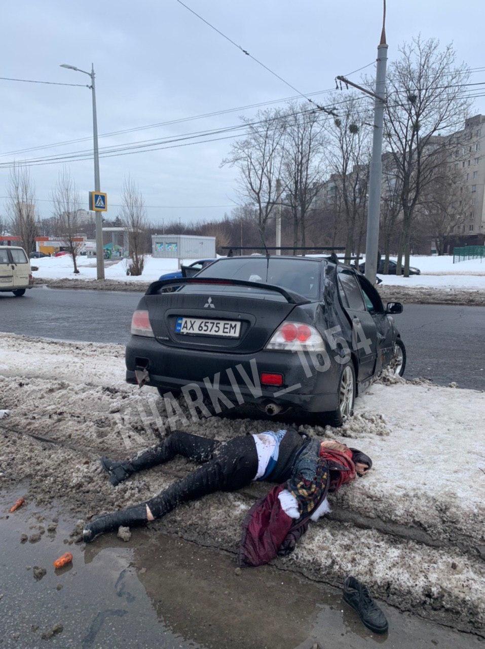 Жуткое ДТП в Харькове