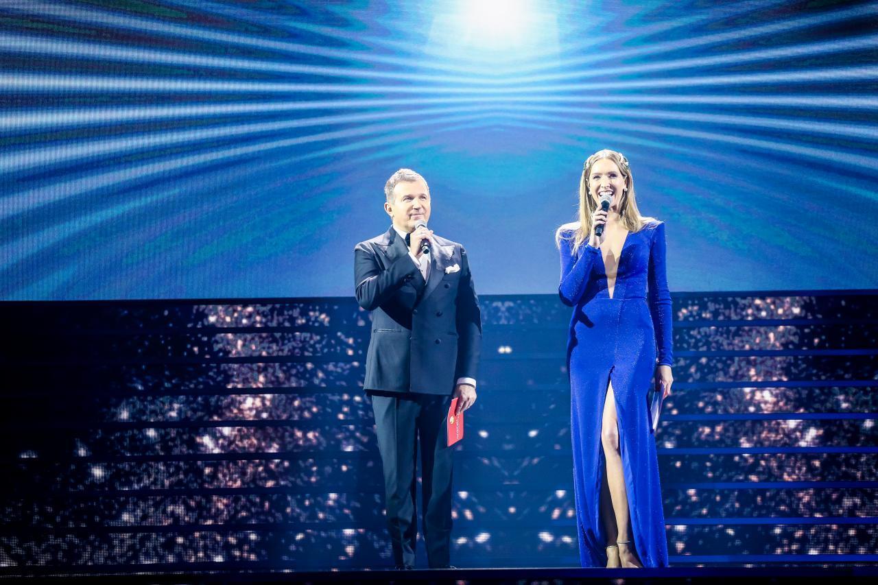Ведущие церемонии – Екатерина Осадчая и Юрий Горбунов