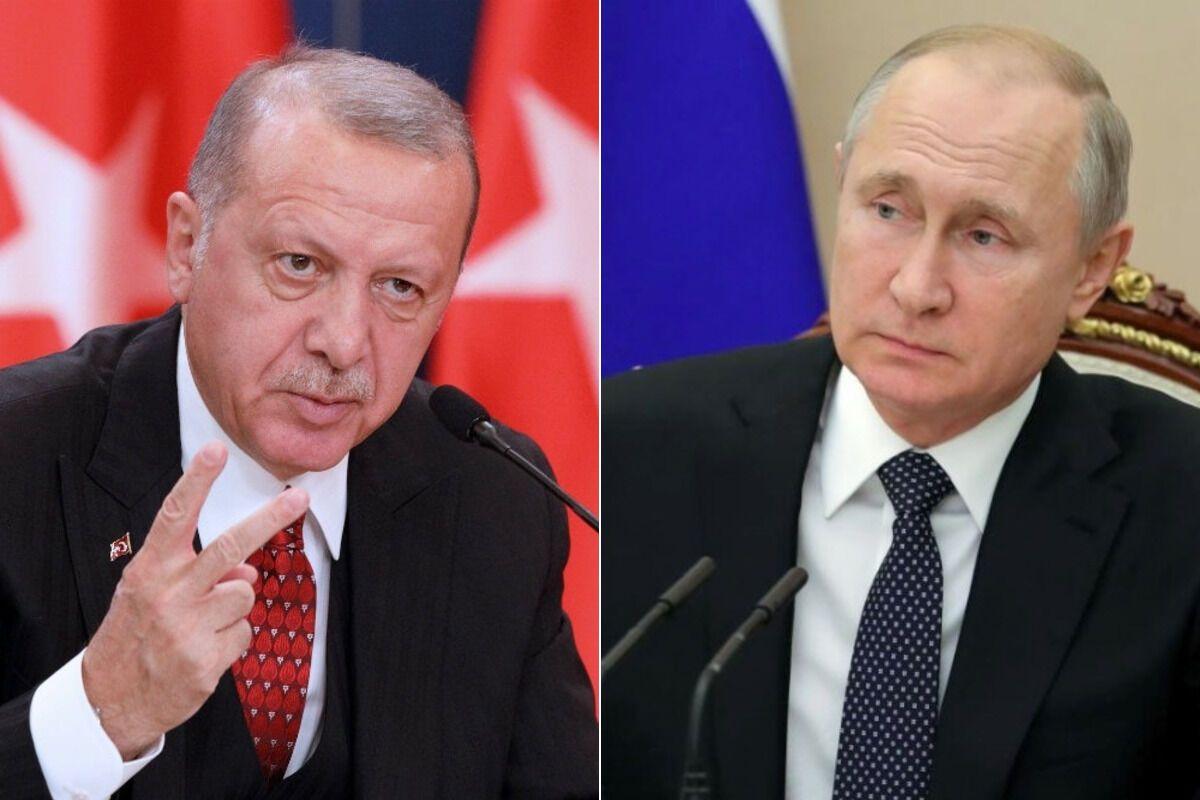 Ердоган звинуватив РФ у розпалюванні війни у Лівії: у Путіна відповіли