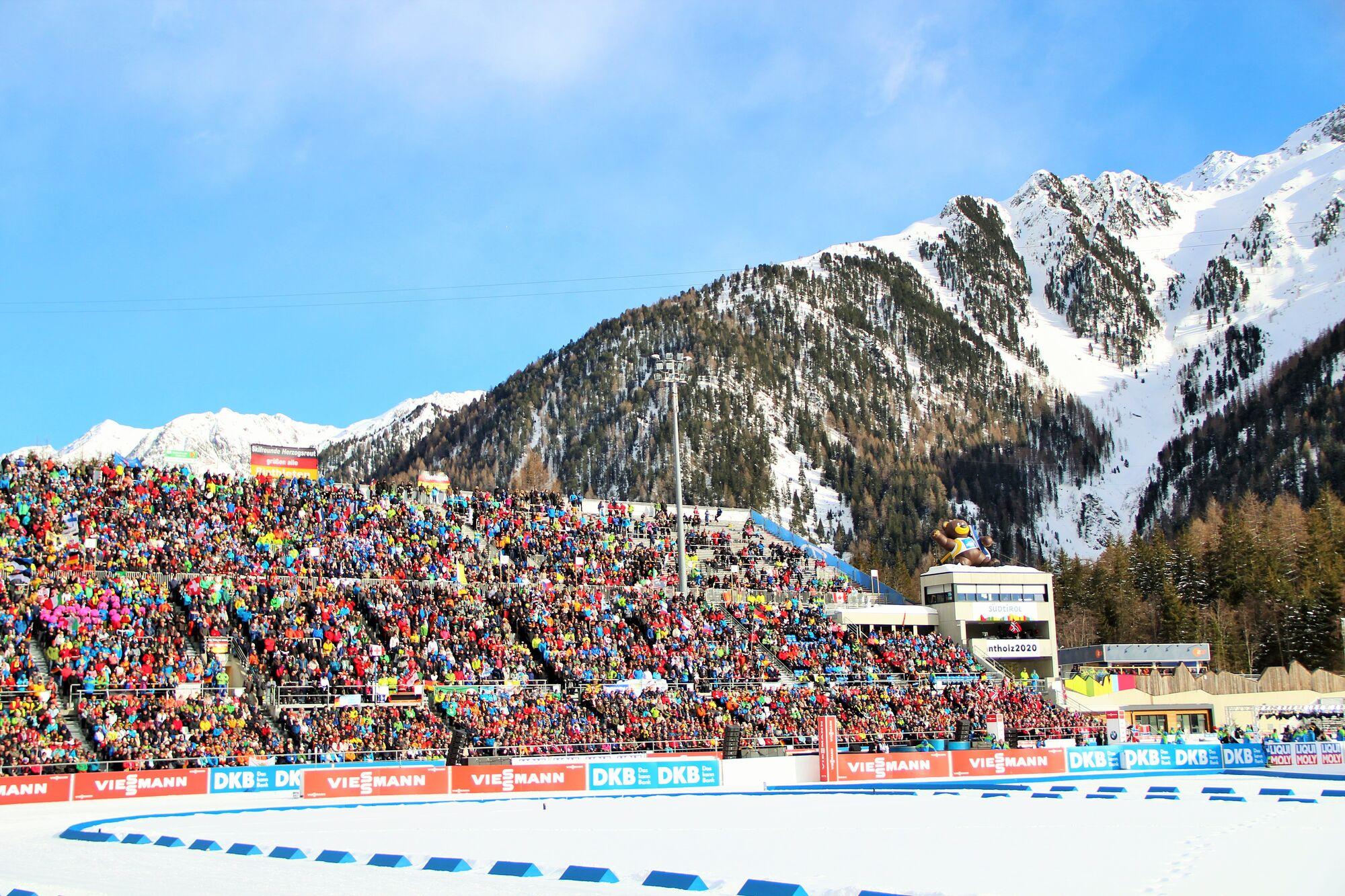 Біатлонний стадіон в Антхольці