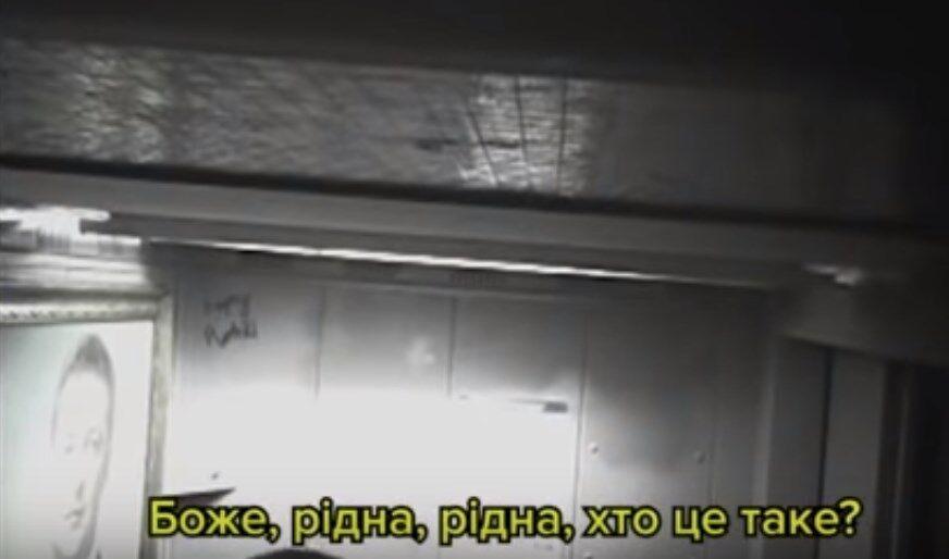 Портрет Зеленского в лифте жилой многоэтажки