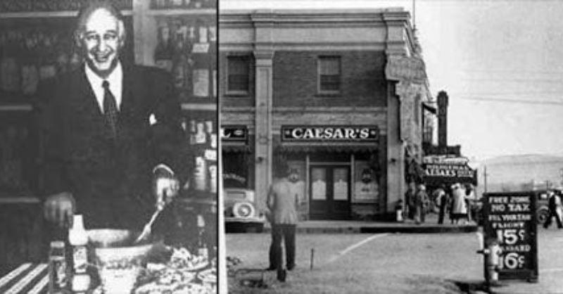 Цезарь Кардини и его ресторан Caesar's