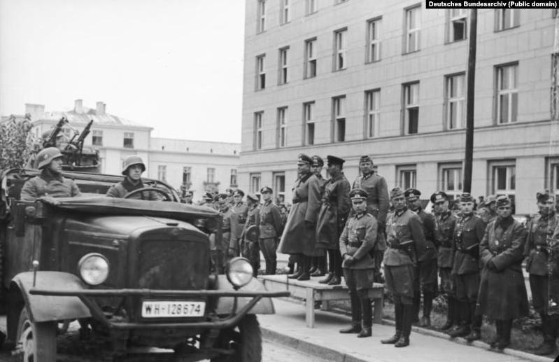 Спільний парад Вермахту і Червоної армії у Бресті 22 вересня 1939 року