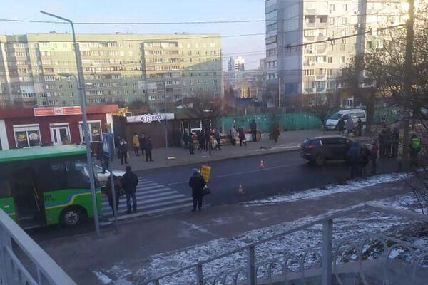 Место в Черкассах, где сбили 11-летнюю школьницу