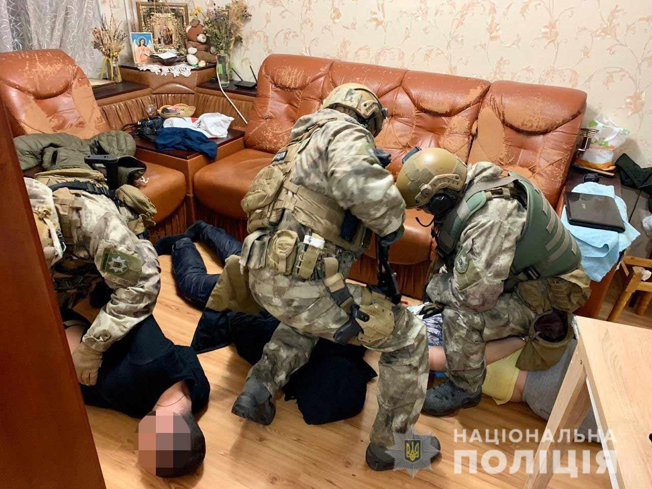 Поліцейські затримали злочинне угрупування
