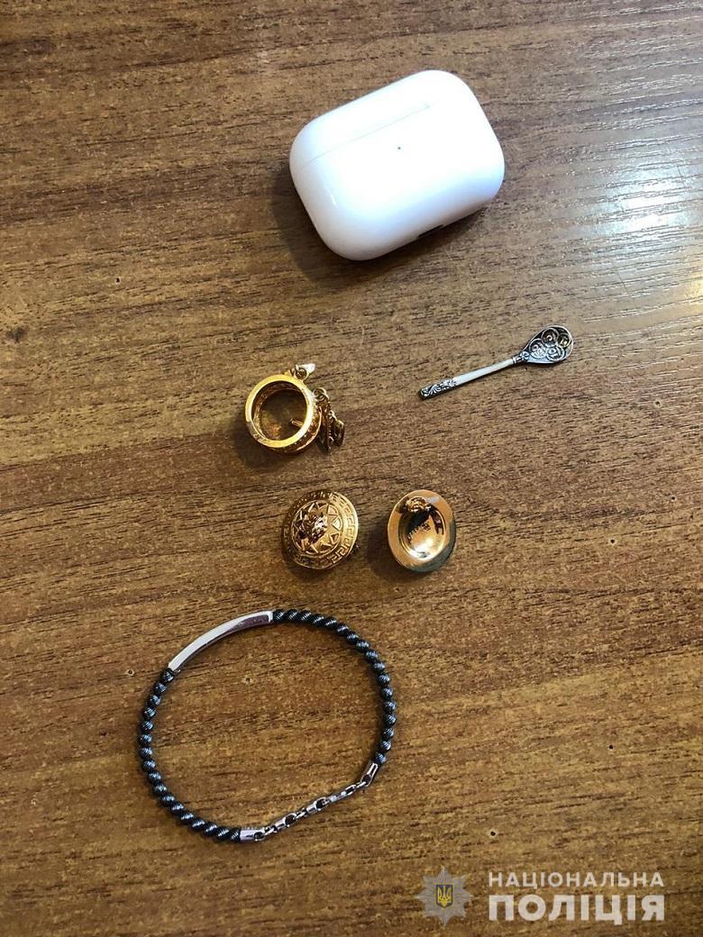 Полиция вернула MARUV часть украденных вещей