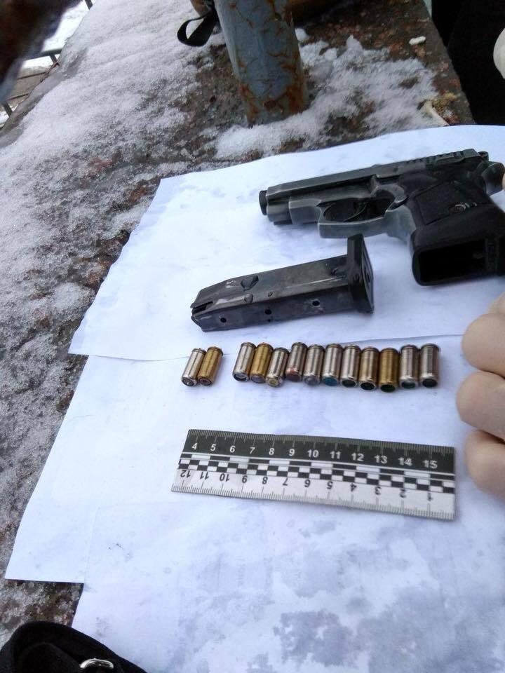 У задержанного нашли оружие