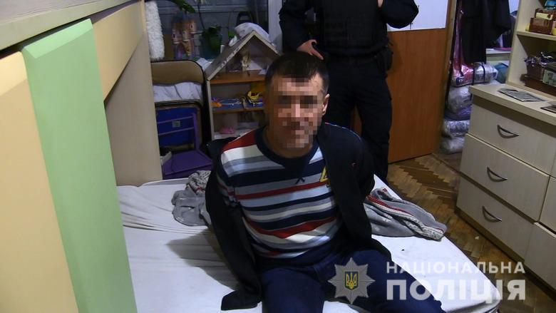 В Киеве задержали мужчину, который убил тещу и спрятал тело в подвале. Фото и видео