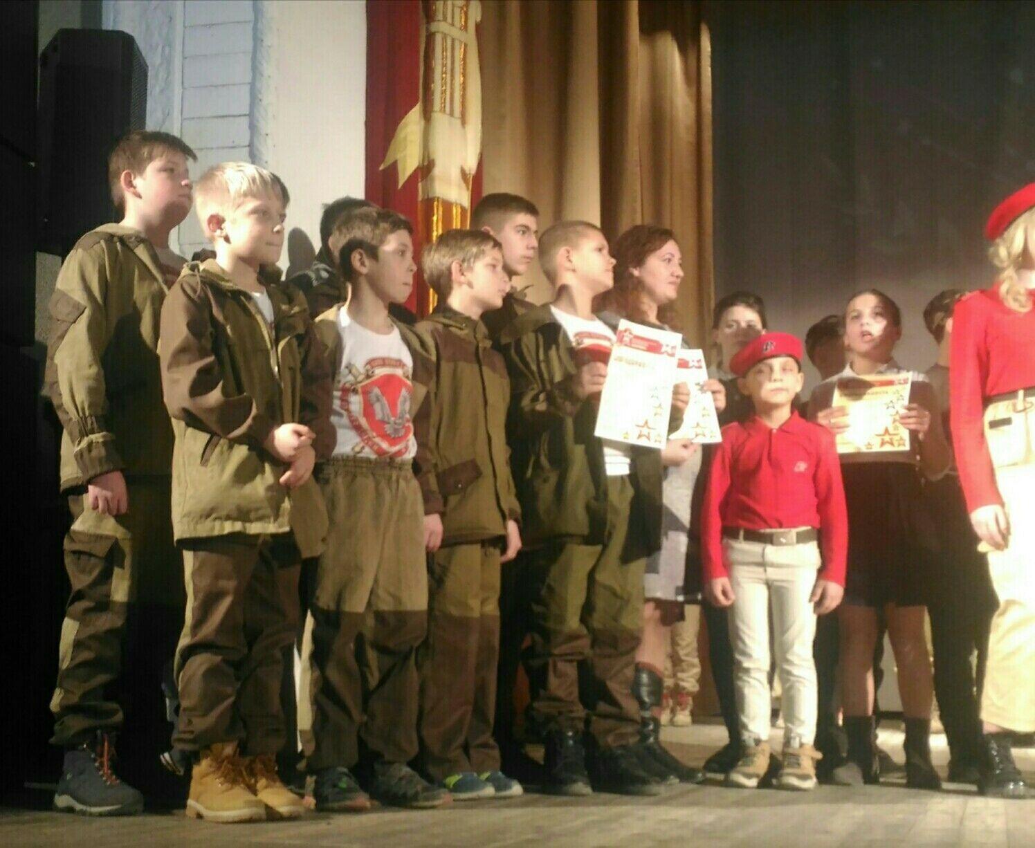 Военный праздник для детей в Крыму