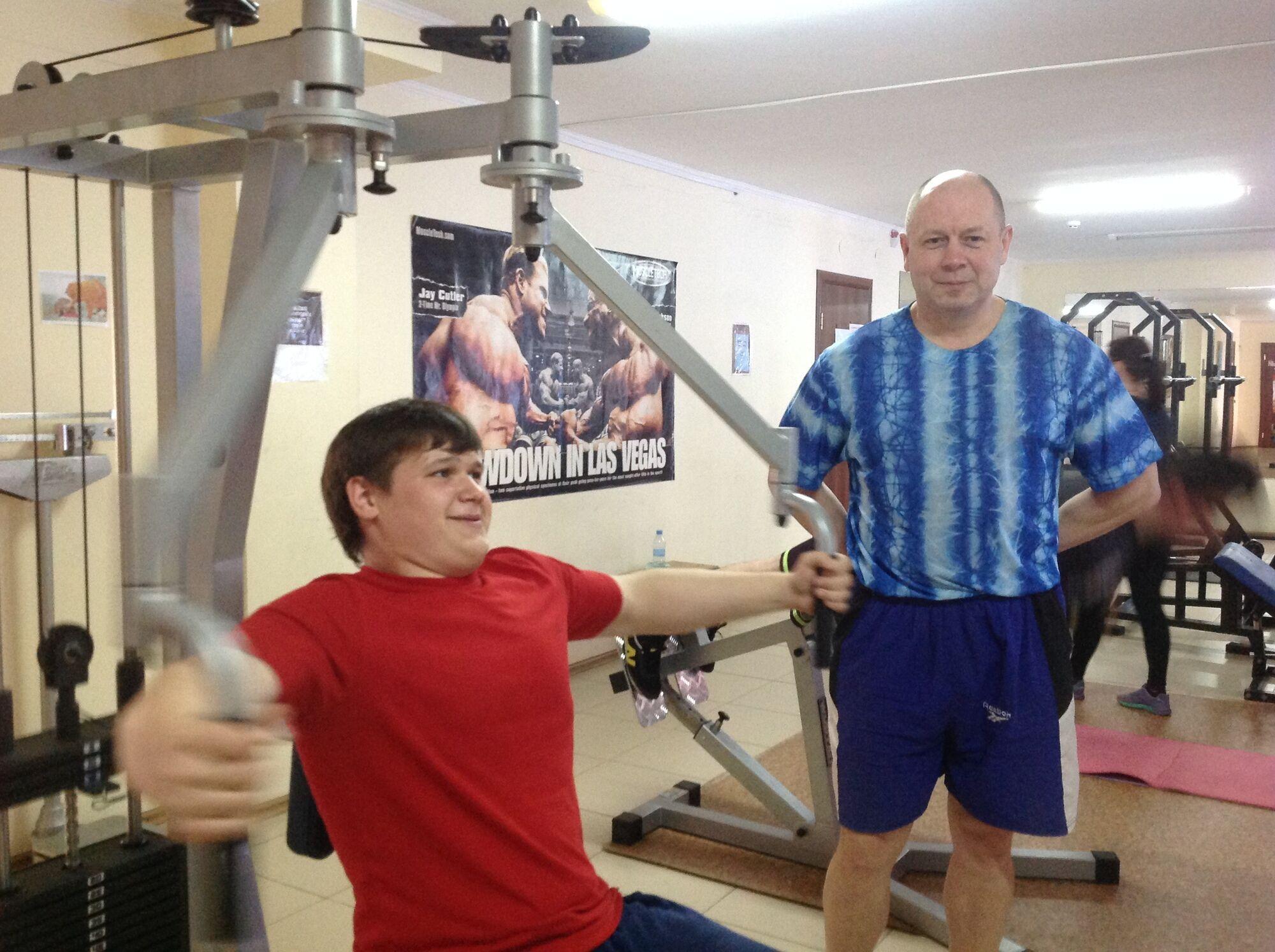 Олександр Порядинський заради схуднення регулярно займався тренуваннями