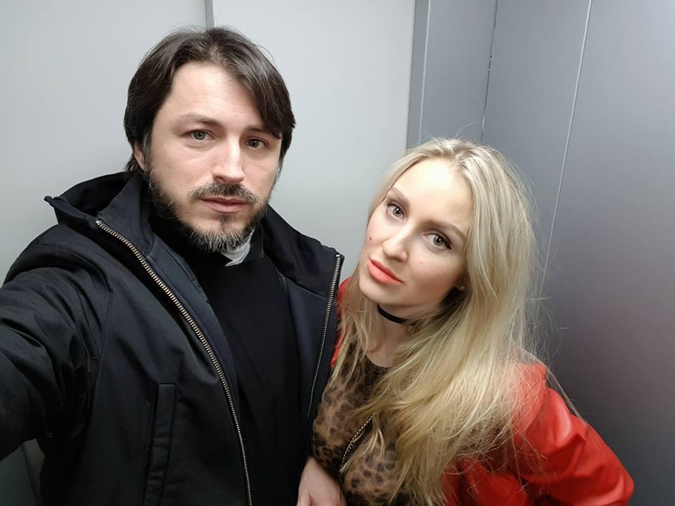 Донька водійки Катерина Сопельник із чоловіком Сергієм Притулою